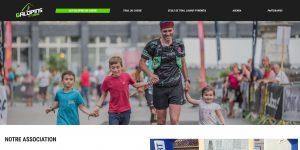 Screen d'une page de site